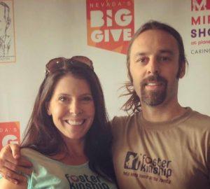 Ali Caliendo Big Give Nevada Donation Drive